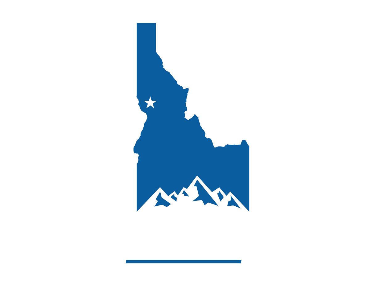 iconic graphic of state of Idaho with Bud's PowerSports in it