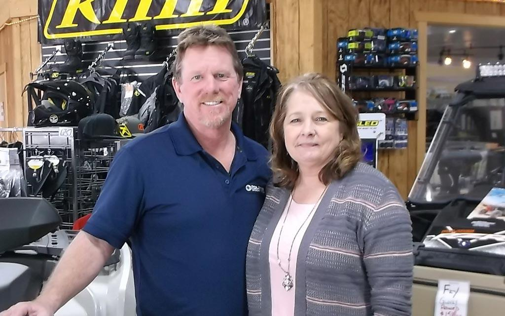 photo of Bud's owners:  John and Koleen Law