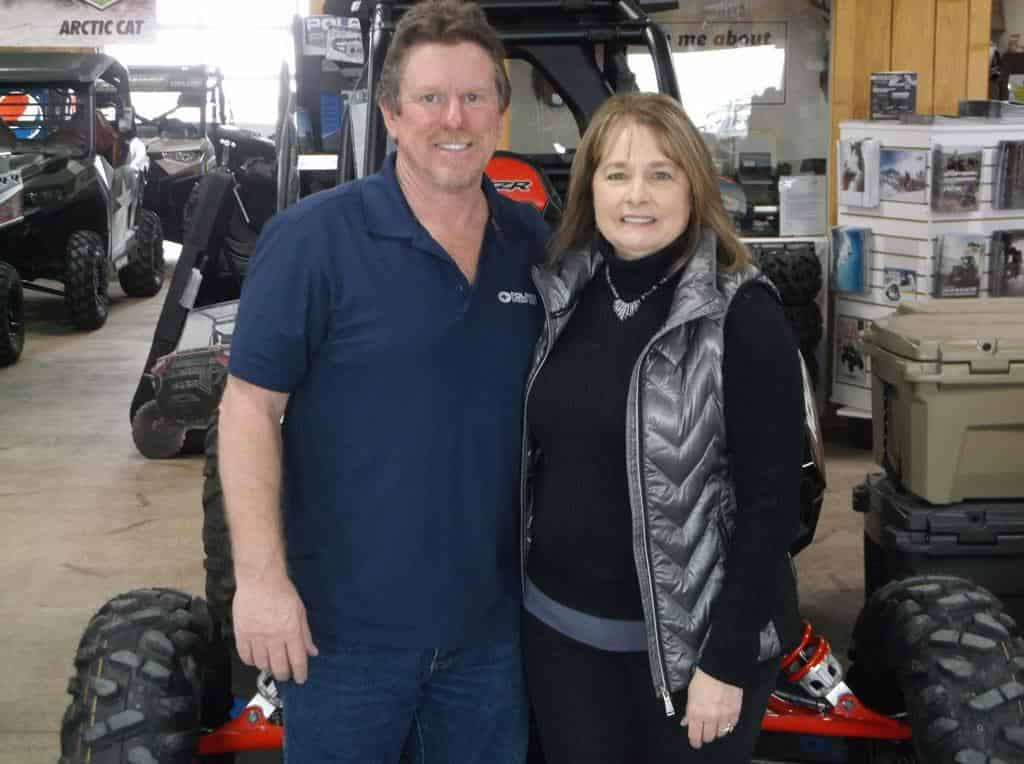 John and Koleen Law - Owners of Buds Powersports