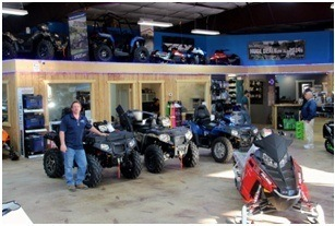 photo of Inside Showroom with owner